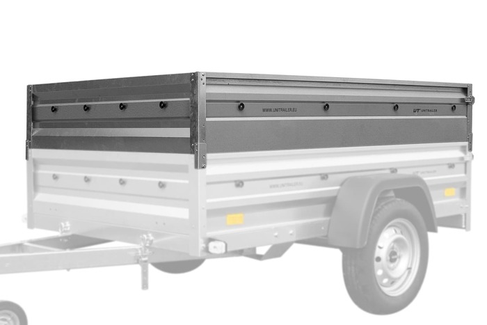 Trailer side extensions for Garden Trailer 205
