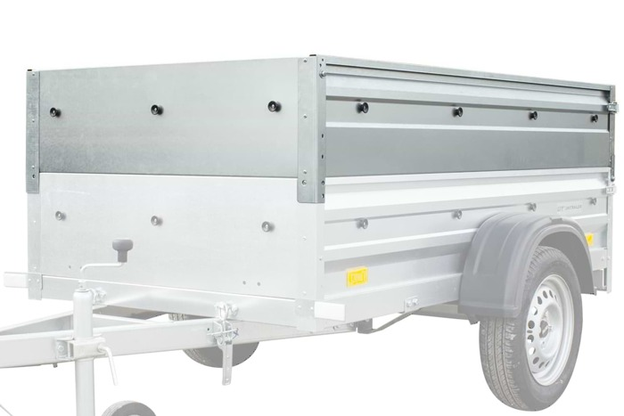 Trailer sides extensions for Garden Trailer 200