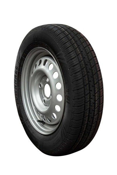 Wheel 155/70 R13 for trailers, 4x100 + Townhall tyre