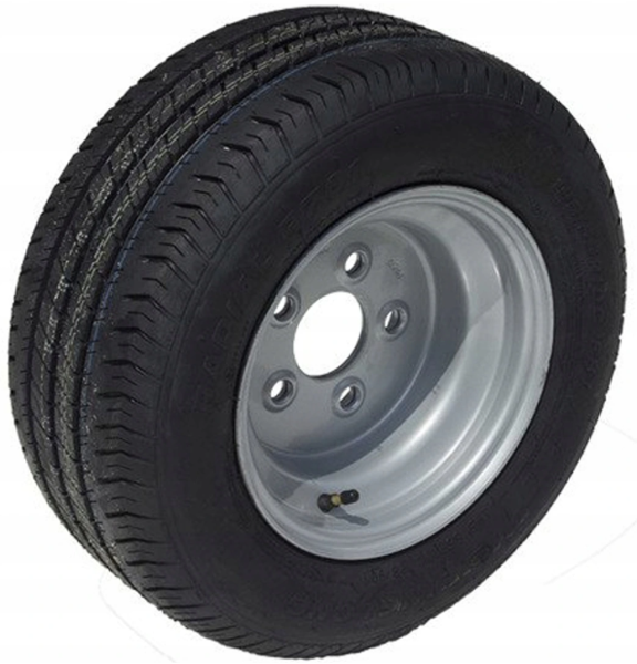 Wheel assembly 195/55 R10C for trailers