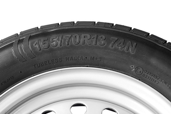 Wheel set - Kenda 155/70 R13 + Starco rim 4x130 74N