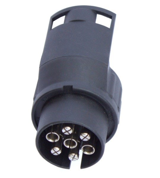 Wiring adapter 7-pole to 13-pole for trailers