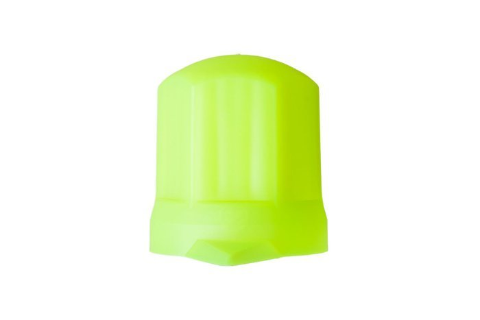 Yellow bolt cover cap F33